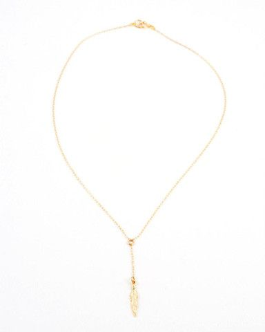 light as a feather necklace by Katie Dean Jewelry