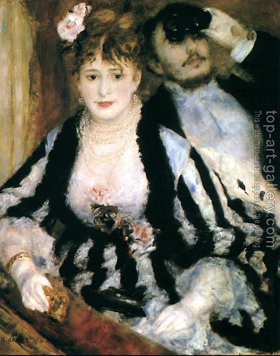 Pierre Auguste Renoir : La Loge