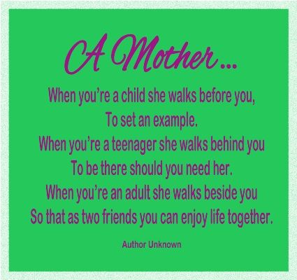 Love this short Mother's Day poem!