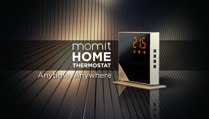 momit Home Thermostat, Anytime, Anywhere