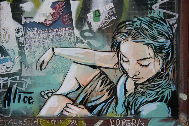 alice pasquini street art - Google Search