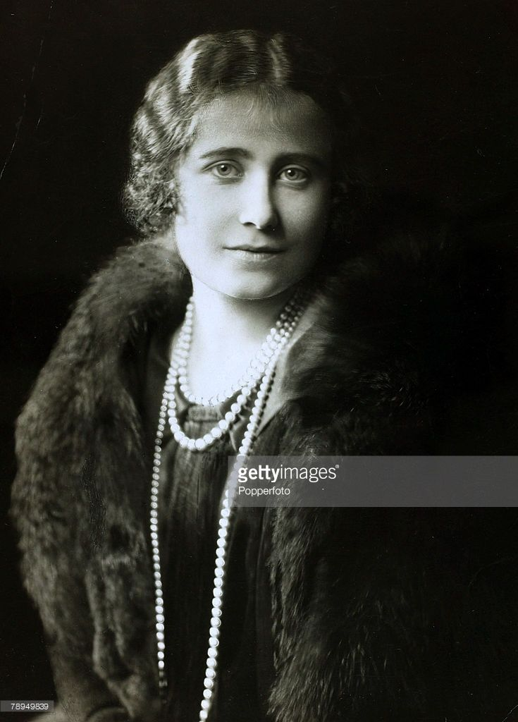 20th July 1923, Lady Elizabeth Bowes-Lyon, portrait shortly before she married the Duke of York, The Duchess of York (1900-2002) was to become Queen Consort to King George VI from 1936-1952 and in her later years became the ever popular Queen Mother