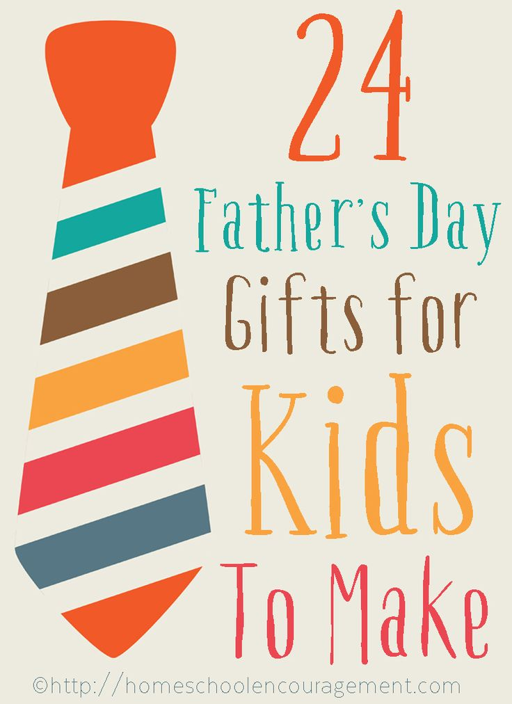 Father's Day Crafts for Kids - Father's Day Gifts for Kids to Make