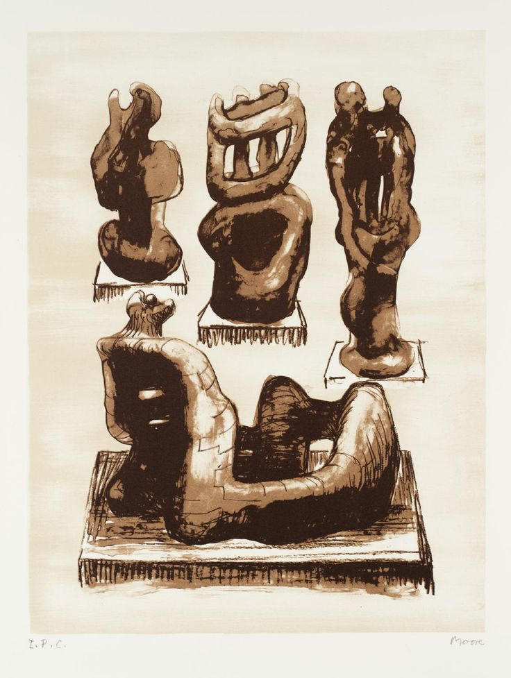 Ideas for Sculpture (1974) Henry Moore