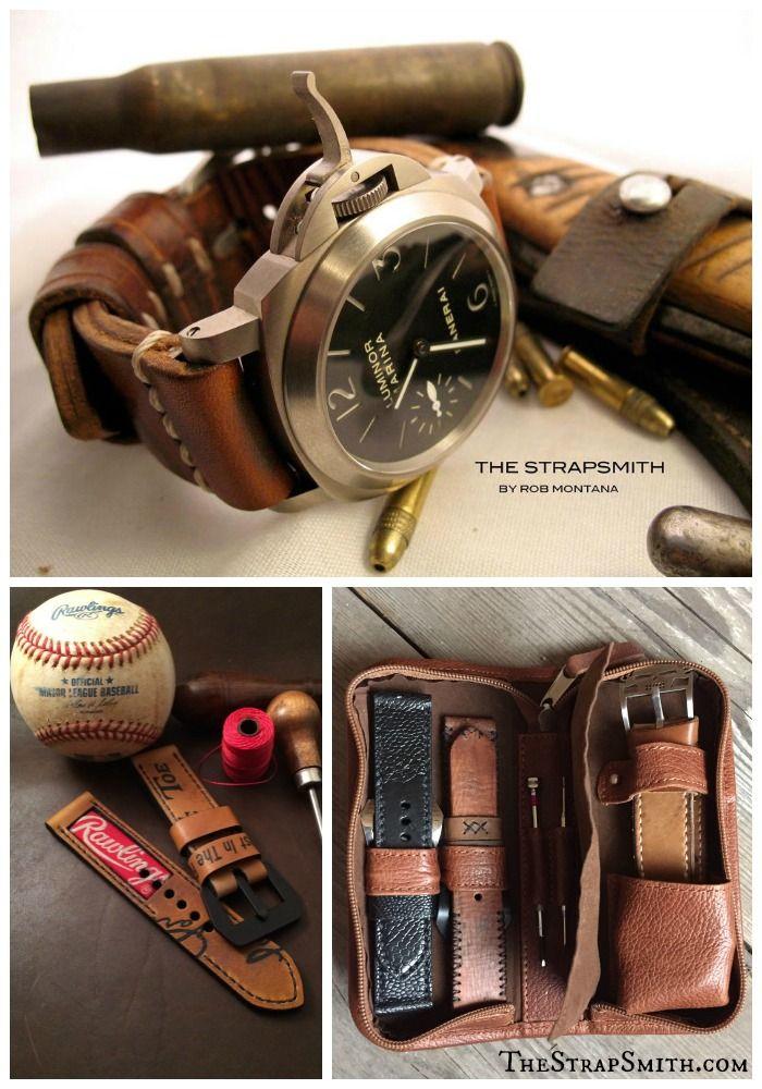 Custom hand made watch straps