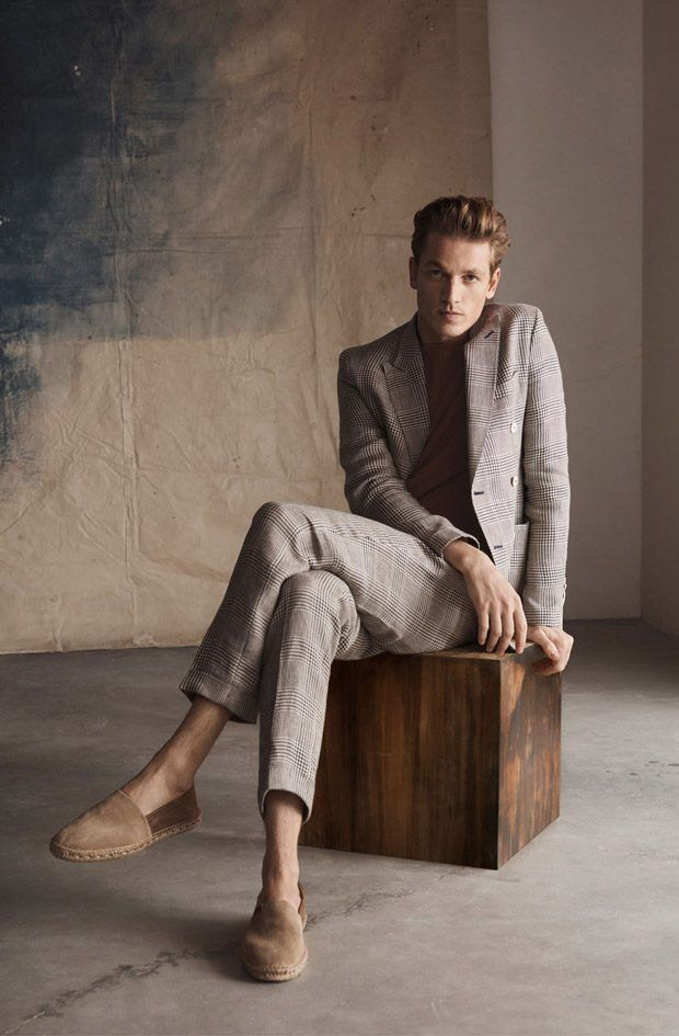 999d45515 Hugo Sauzay is the Face of Massimo Dutti Spring Summer 2018 Collection