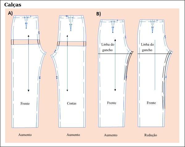 Gancho da calça pode ser ajustado nos moldes | Audaces