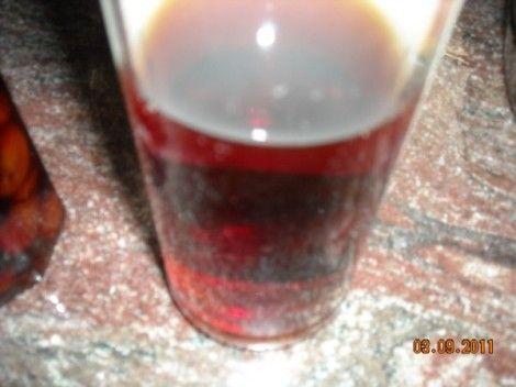 Liquore di prugne secche