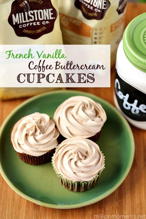 French Vanilla Coffee Buttercream recipe, plus WIN a new coffee maker! #CoffeeJourneys #shop