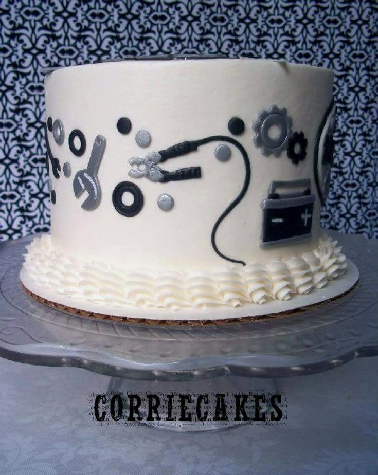 Corrie Cakes, Mechanic Cake