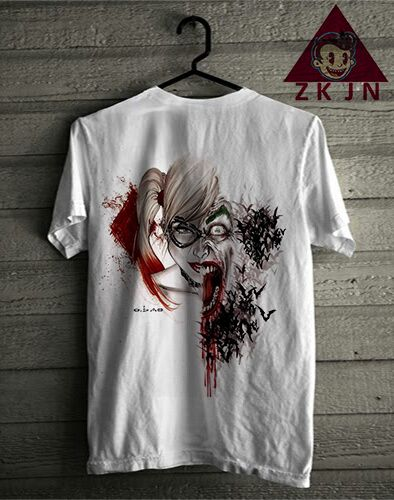 Zack Jordan T-shirt. QUIN Joker