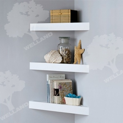 Living Room Corner Shelves Homey Pinterest