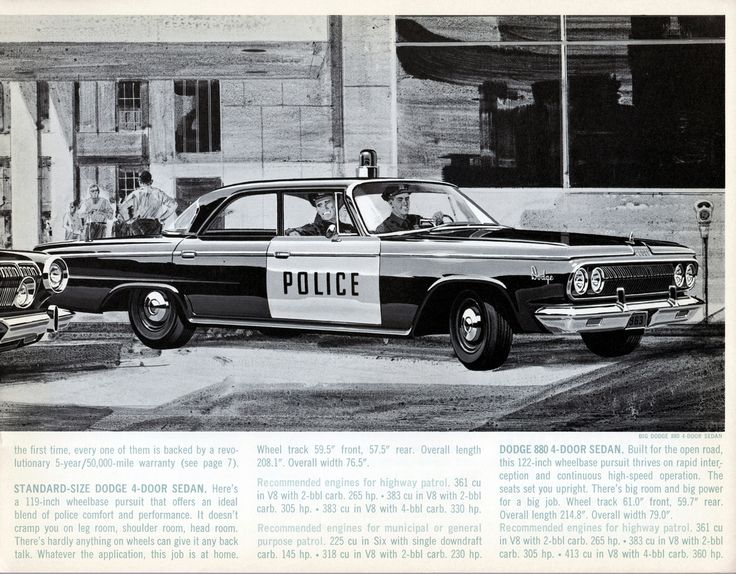 Best Police Car Brochures  Ads Images On   Police