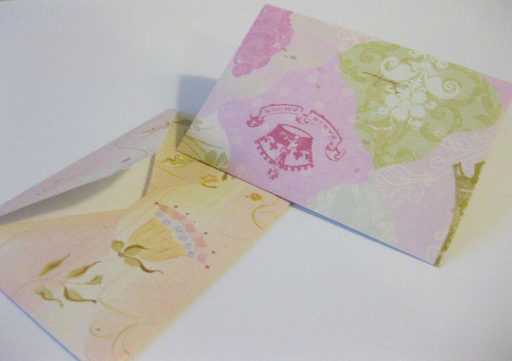 Mini envelopes!  Fanpage on facebook: /youcandoit.tienda