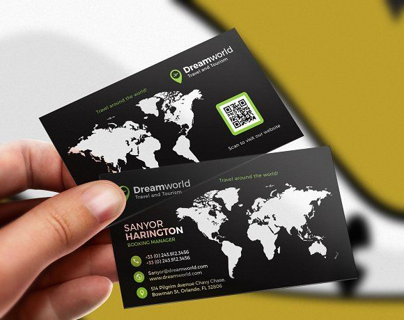 Tour And Travel Business Card Business Card Photoshop Photography Business Cards Agency Business Cards