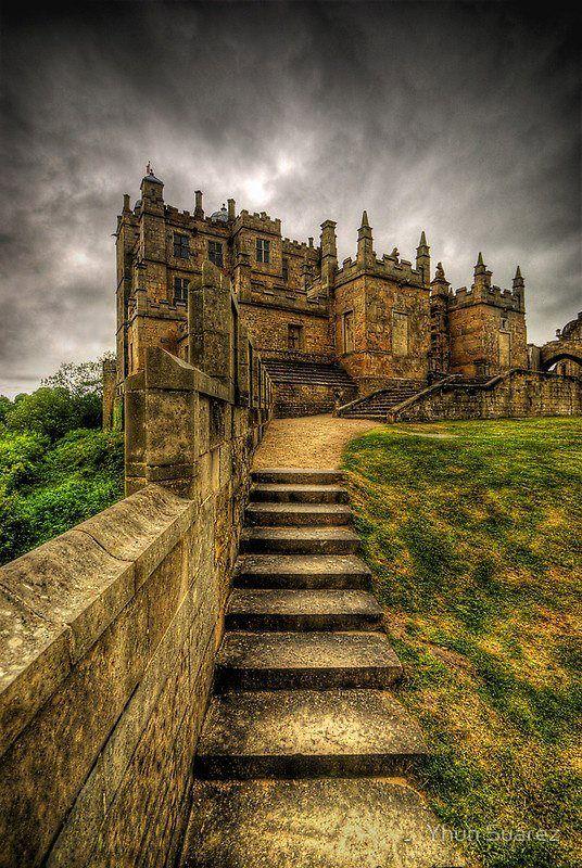 Le château de Bolsover en Angleterre prés de Chesterfield.