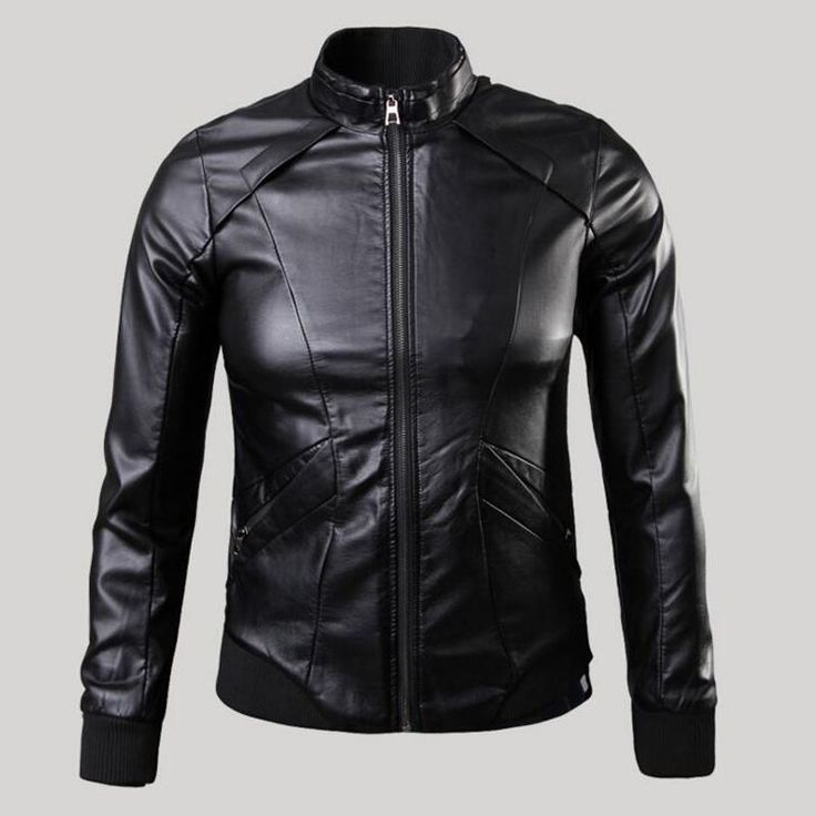 2016 Korean Style Men's Leather Collar Slim Fit Zipper Cuff Leather Jacket  XXXXXL Plus Leather Coat Casual American Style S1675     Tag a friend who would love this!     FREE Shipping Worldwide     Buy one here---> http://onlineshopping.fashiongarments.biz/products/2016-korean-style-mens-leather-collar-slim-fit-zipper-cuff-leather-jacket-xxxxxl-plus-leather-coat-casual-american-style-s1675/