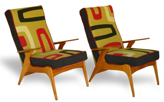 #Social Fabric on the Sunshine Coast, Australia rescues and re-invents these vintage chairs. Fantastic!