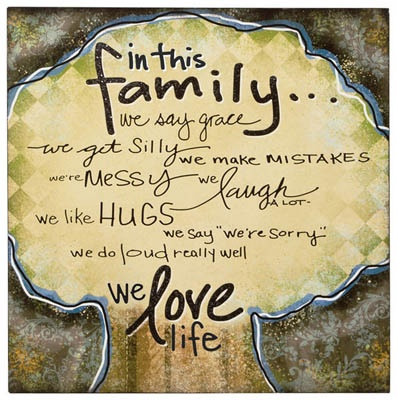 In This Family Wall Art