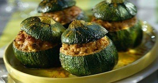 Como hacer zapallitos rellenos faciles | Recetas de Cocina faciles.