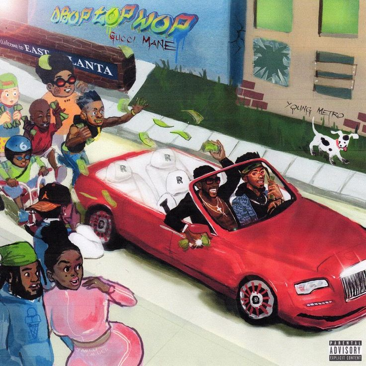 Gucci Mane just revealed the artwork, tracklisting and release date for the Drop Top Wizop album and, surprise, it's dropping this Friday. As he noted in his Instagram post, May 26th is the one year anniversary of the day he walked out of federal custody. Click to check out the full tracklist, with features from Young Dolph, 2 Chainz and Rick Ross
