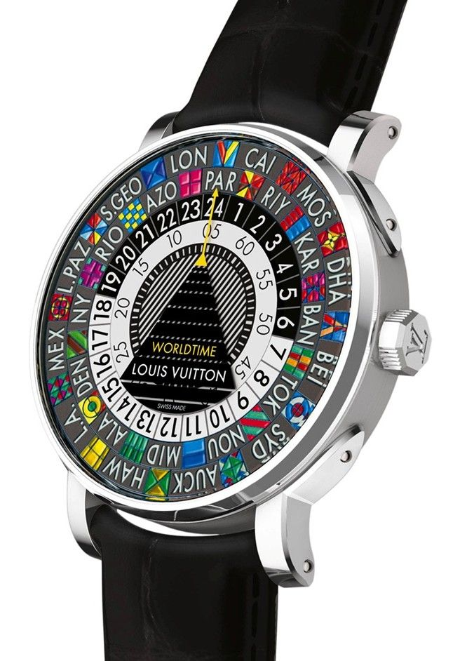 Escale Worldtime by Louis Vuitton 24 hour watch