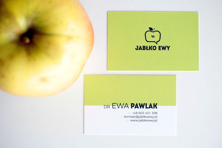 Brand identity design, bussines cards design, Jabłko Ewy Public Speaking Coach on Behance