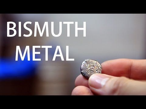 How to Extract Bismuth from Pepto-Bismol Tablets In this video, I will demonstrate one method how to extract bismuth metal from Pepto-Bismol. This is not my procedure. It is a scaled up version of the procedure posted by TheChemLife By: Nile Red.