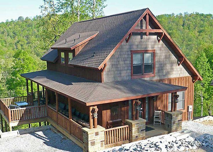 Plan 18733CK Wrap Around Porch Porch Wraps and Cabin