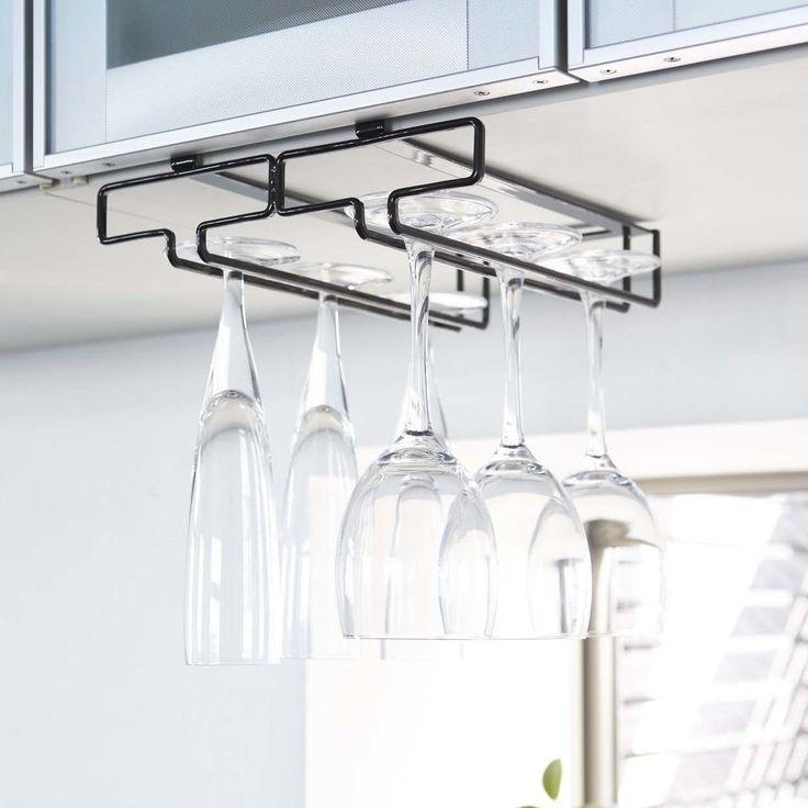 17 best ideas about hanging wine glass rack on pinterest. Black Bedroom Furniture Sets. Home Design Ideas