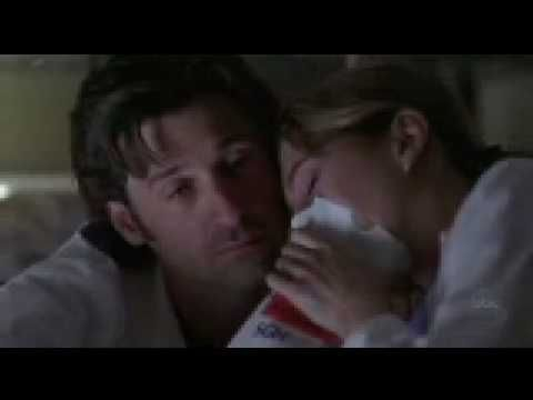 Derek/Meredith - 2X15 Scene: Just Breathe In and Out.