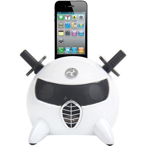 Submarino Dock Station Ninja Dazz DZ-65766 para iPod e iPhone com Entrada Auxiliar 2 Alto-Falantes - R$80,19