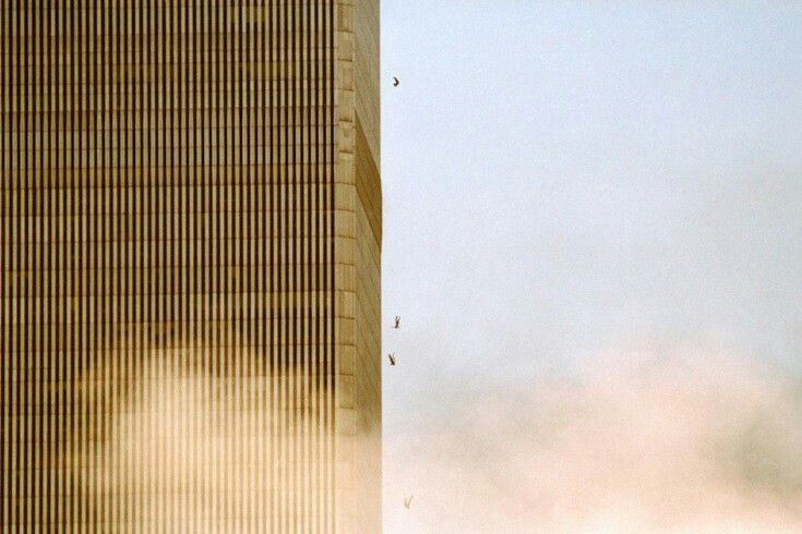 9 11 jumpers chaos pinterest for Twin towers how many floors