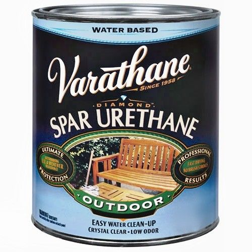 Varathane outdoor non yellowing clear varathane exterior spar urethane diamond wood finish for Exterior polyurethane wood finish