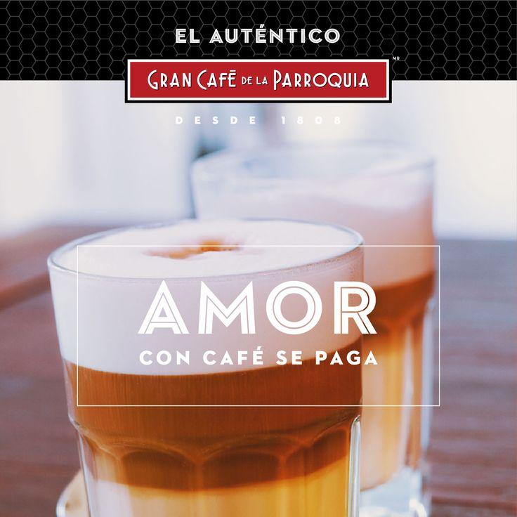 Porque toda buena historia de amor empieza con un café. Escriban un destino juntos.