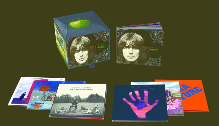 explore george harrison discography