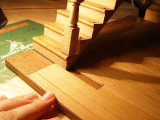 Using flat bamboo to create floors, tiles and surrounds to windows