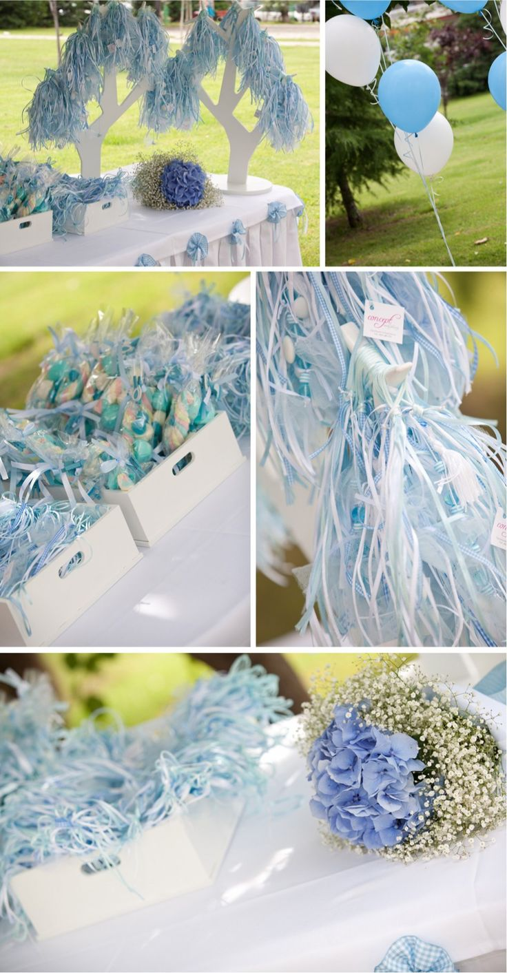 Christening ceremony decor + favors by Concept Events Planning | www.concept-events.gr