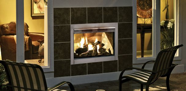 CONFIRMED & ORDERED:  Heatilator | The Twilight Indoor/Outdoor Fireplace Offers the Best of Both Worlds
