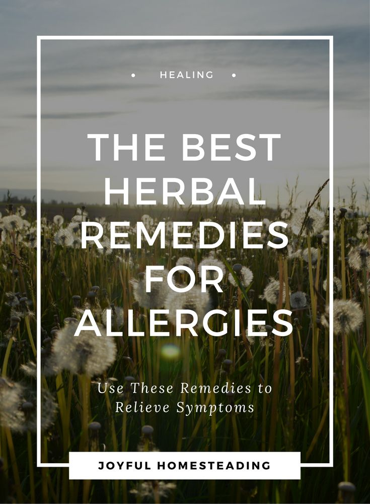 Herbal allergy remedies do not always replace prescription medications, especially in serious or emergency situations, but they are still highly useful to ease allergy symptoms.