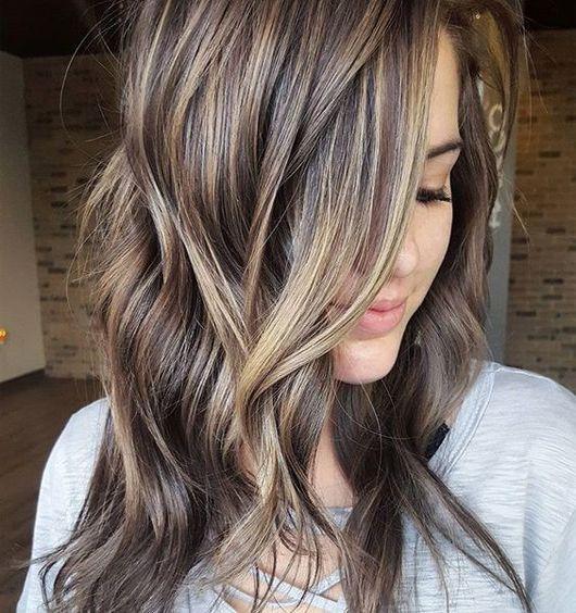 Best 25+ Brown Medium Length Hair With Highlights Ideas On