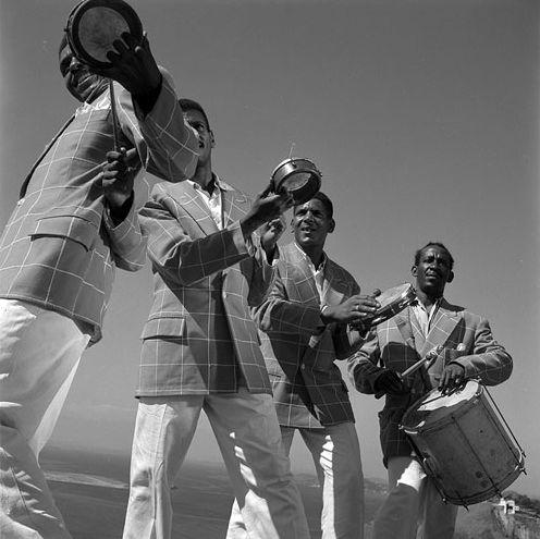 Carnaval no morro Mexicano, Rio Jean Manzon, circa 1950
