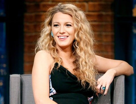 Blake Lively during an interview on June 22, 2016.