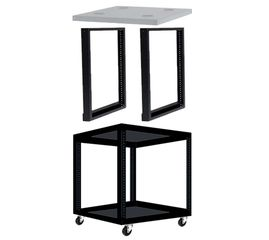 Direct Connect 24U Stackable Rack Combo