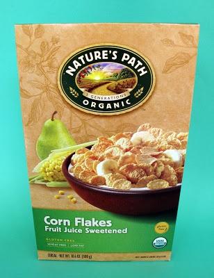 Nature's Path Organic Corn Flakes.