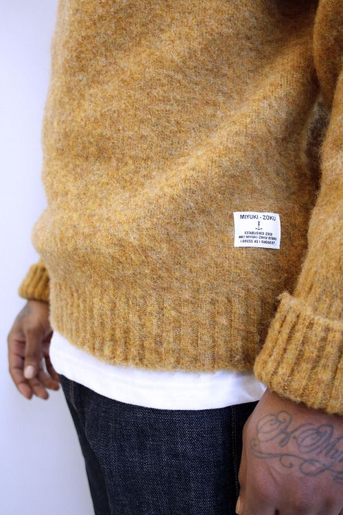 Nice texture... and color. #menswear #style #sweater #texture