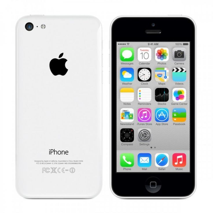 Apple iPhone 5c - 8GB - White (Boost Mobile) Smartphone #Apple #Smartphone