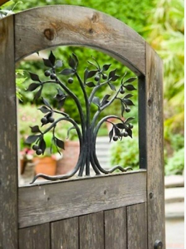 Las 25 mejores ideas sobre puertas de jard n de metal en - Puertas metalicas jardin ...