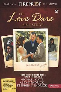 The Love Dare Bible Study Leader Kit helps a leader facilitate a marriage-centered Bible study experience for married and/or engaged couples. This Kit contains all that is needed to conduct 8 weeks of Bible study.
