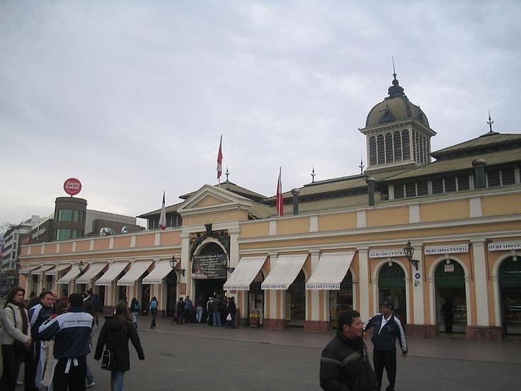Mercado Central Santiago de Chile